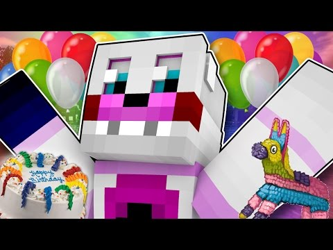 Minecraft Fnaf Sister Location- Funtime Freddys Birthday Party (Minecraft Roleplay)