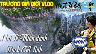 Hãi hùng cầu kính cao nhất TG ở rừng đá sa thạch khổng lồ