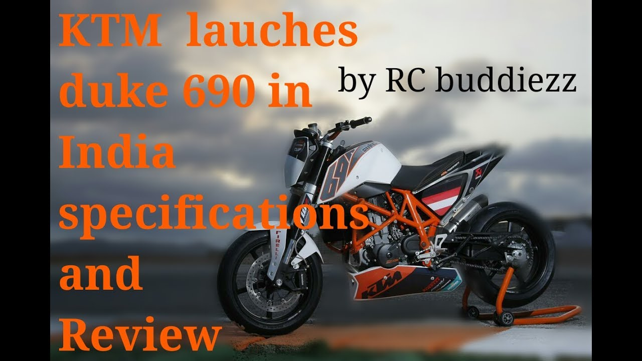 KTM Launches Duke 690 R in INDIA In 2018 Specifications and Review - YouTube