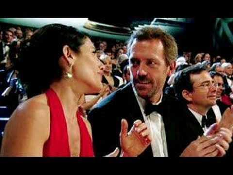Hugh Laurie and Lisa Edelstein