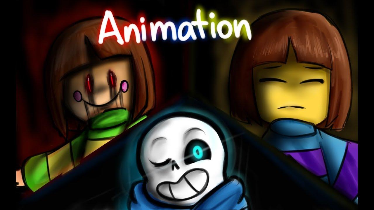 Megalomaniac - Undertale Animation (Glitchtale #1) - YouTube