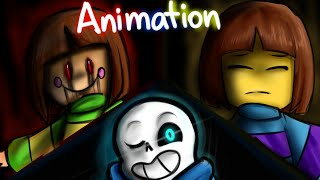 Megalomaniac Undertale Animation Glitchtale 1 Song By Aria Rose