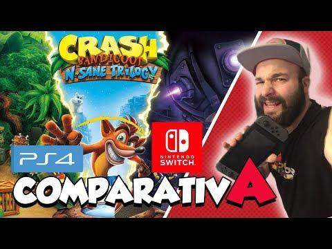 Si no es buena la version de Crash en Switch yo soy Pocahontas   Primeras impresiones