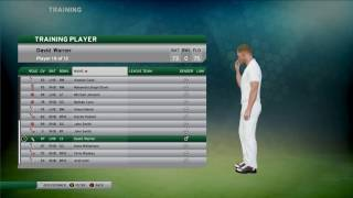 Don Bradman Cricket 17 Demo - David Warner Game Play thumbnail