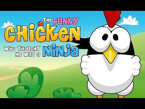 Ninja Chicken Arcade Android İos Free Game GAMEPLAY VİDEO