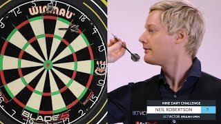 Neil Robertson | The BetVictor 9 Dart Challenge | World Snooker