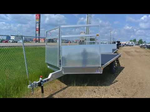 New 2017 H&H Trailers® 8.5x12' All Aluminum Trailer For Sale in Edmonton, AB