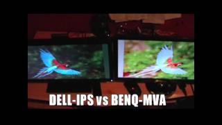DELL UltraSharp U2311H vs BenQ VW2420H