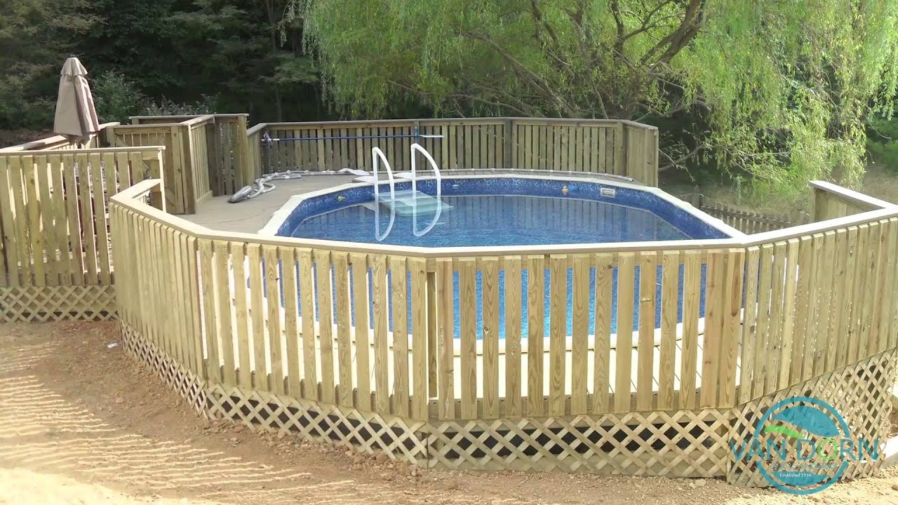 Pool Construction Reisterstown | Benefits of Doughboy Pools | Van Dorn Pools