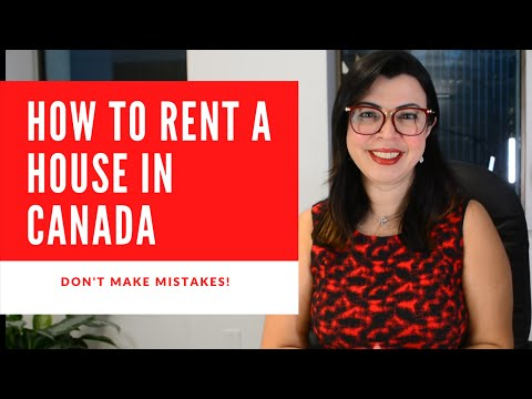 HOW TO RENT A HOUSE IN CANADA IN 2021