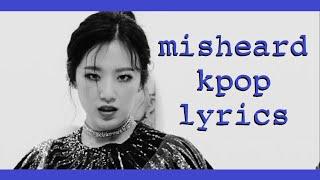 Download some adventurous misheard kpop lyrics