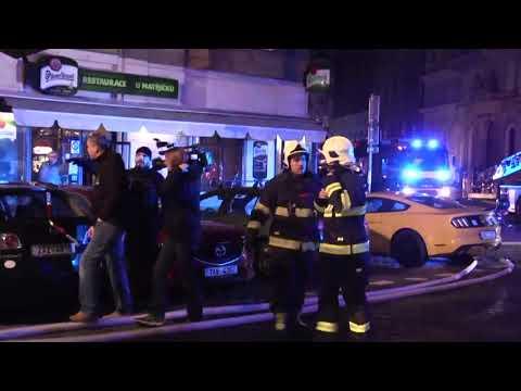 Shocking Video: Hotel Fire - PRAGUE (4 Death)