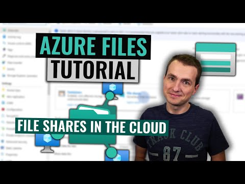 Azure Files Tutorial | Easy File Shares In The Cloud