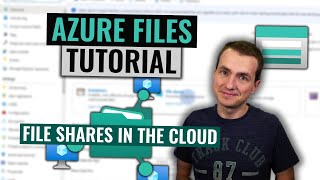 Gambar cover Azure Files Tutorial | Easy file shares in the cloud
