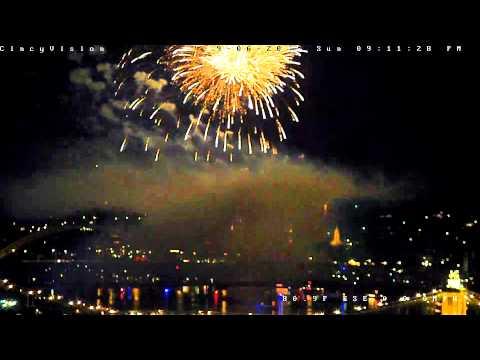 Cincinnati Riverfest 2015 Full Day Time Lapse