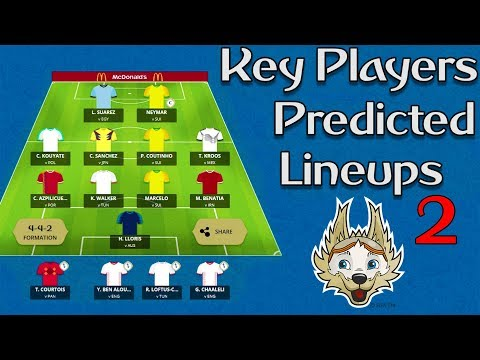 World Cup tasy : Key Players & Predicted Lineups ⚽ Part 2