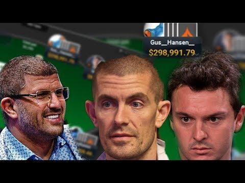 Gus Hansen, Loose Leon, Sam Trickett - $100/$200 PLO Live Rail!!