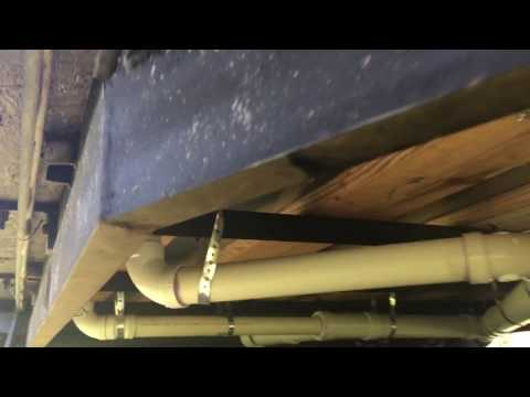 How to Build A Tiny House - Episode 45 - Sewage Drain Pipes Installed