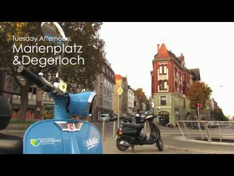 Spontaneous Public Transport Trip in Stuttgart