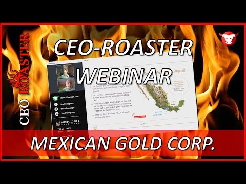 Mexican Gold Corp. in a CEO-Roaster Web Conference with Brian Roberston (MEX.V)