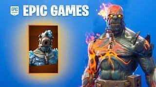 EPIC GAMES IT OFFER THE SECRETS SKINS OF FORTNITE.
