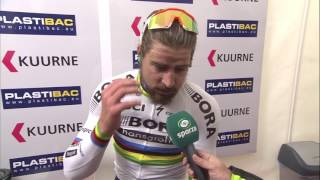 Peter Sagan - post-race interview - Kuurne-Brussel-Kuurne 2017