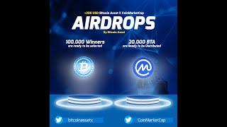 Free 20k USD Bitcoin Assets Airdrop | Coinmarket Legit Airdrop |