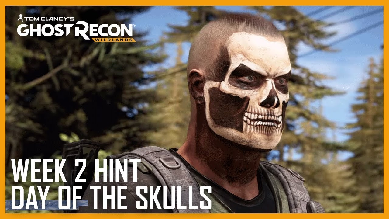 Day of the Skull Challenge - All Locations - Ghost Recon Net  Skull Ghost Recon Wildlands