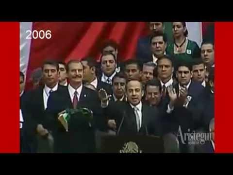 El sexenio de Calderón en video: discursos, tragedias y canciones
