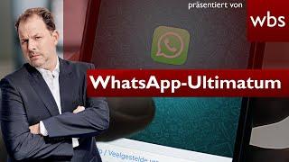 Heftiges WhatsApp-Ultimatum: AGB zustimmen oder Sperre | Anwalt Christian Solmecke