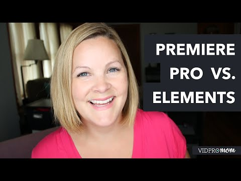 Adobe Premiere Pro CC vs Premiere Elements 14