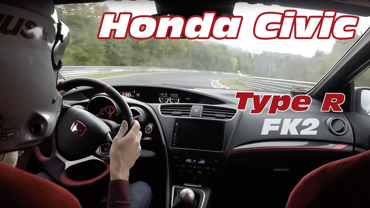 honda civic type r 2015 nurburgring test on board. Black Bedroom Furniture Sets. Home Design Ideas
