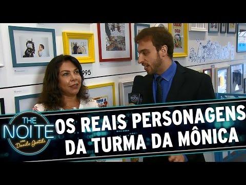 The Noite (27/10/15) - Léo Lins Mostra Os Personagens Reais Da Turma Da Mônica