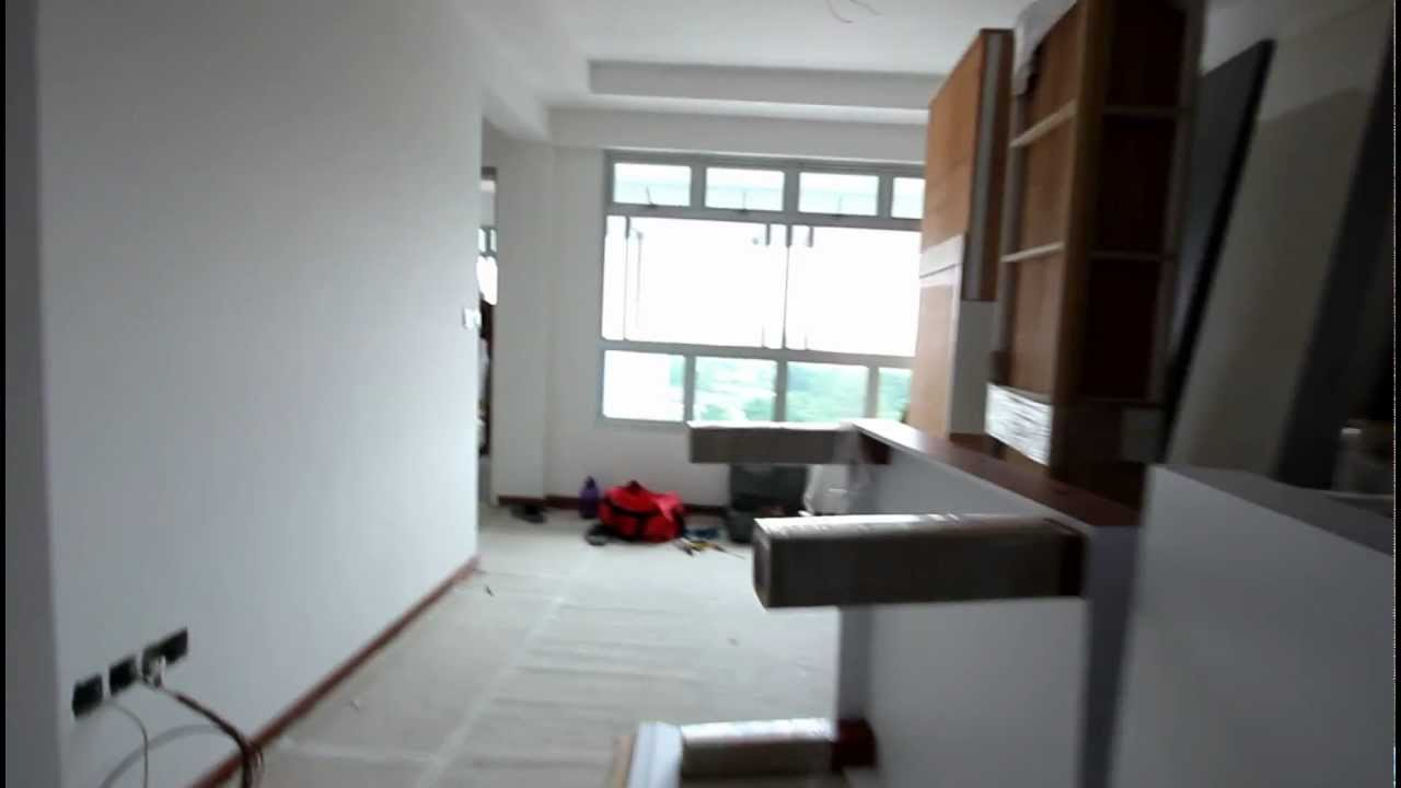 BTO 3 Room HDB renovation by Interior Designer Ben Ng -- Part 3 ...