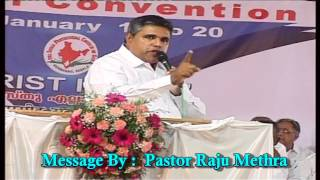 Christ Our Present and Future Hope By Pastor Raju Methra