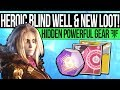 Destiny 2   HEROIC BLIND WELL & HIDDEN LOOT! New 600 Power Gear, All City Changes & New Gambit Map!