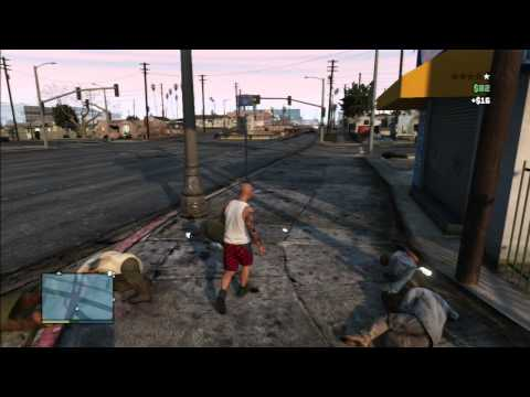 GTA 5 Online - Angry Skinhead hate those Mexicans !