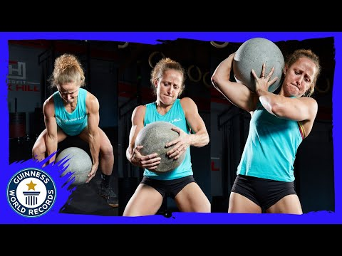 Crossfit triple record holder   Michelle Kinney - Meet The Record Breakers
