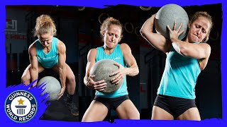 Crossfit triple record holder | Michelle Kinney - Meet The Record Breakers