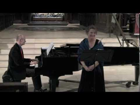 Schubert: German Lieder-Janet Obermeyer (soprano) Arnold Tirzits (piano) live concert Toronto,