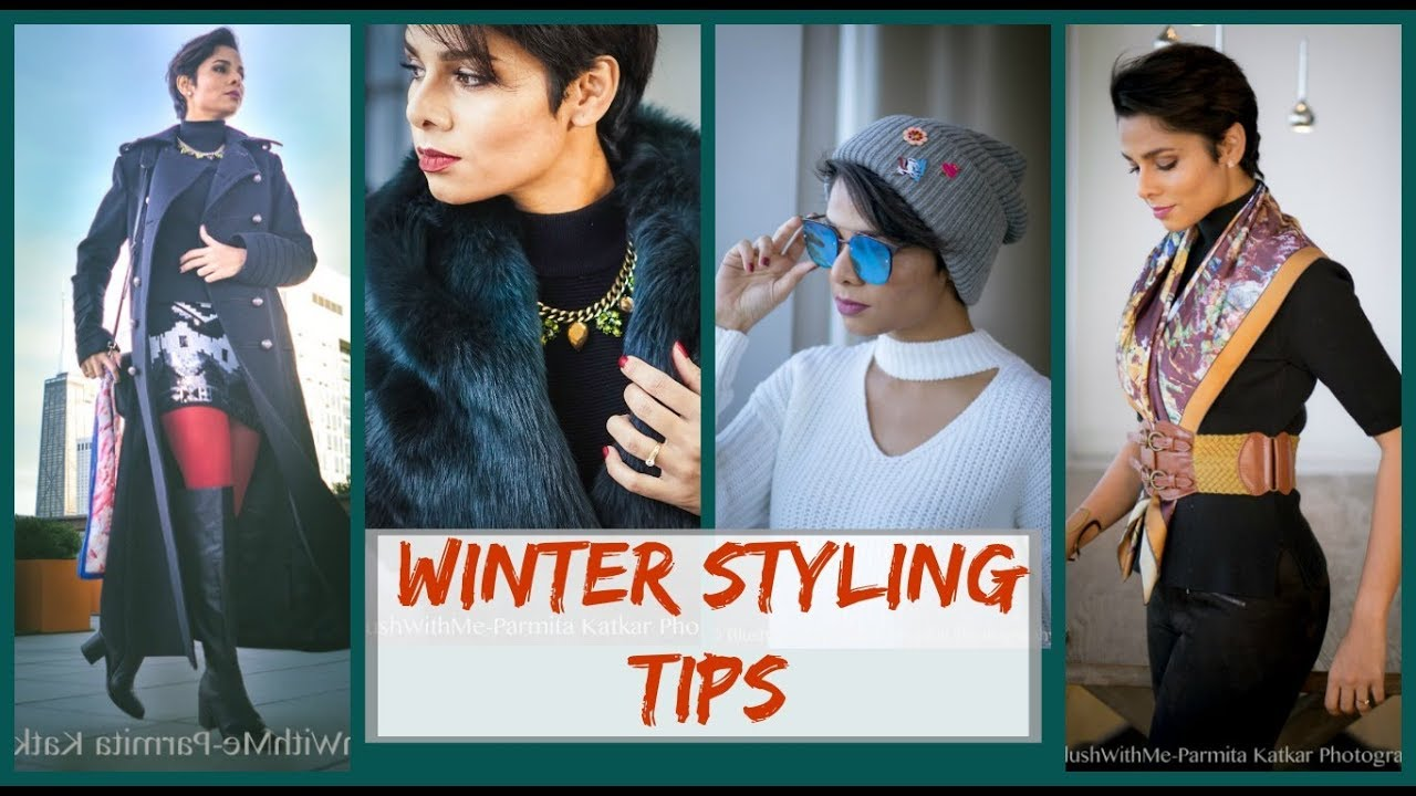 How to LOOK CUTE in WINTER/ Accessories and colors to improve your cold day outfits: Blush with me 2