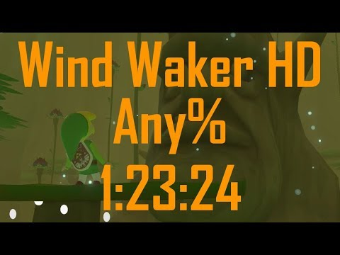 Wind Waker HD Any% Speedrun in 1:23:24