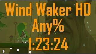 Wind Waker HD Any% Speedrun in 1:23:24