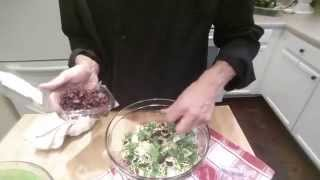 Everyday Chef: How To Create A Shredded Brussels Sprout & Kale Salad