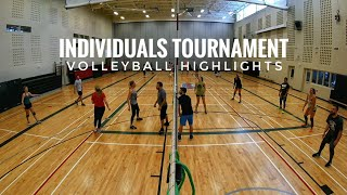 Individuals Tournament | Volleyball Highlights - 2018-01-13