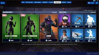 *NEW*B.R.U.T.E Gunner & B.R.U.T.E Navigator Skins ! Fortnite Item Shop August 2, 2019