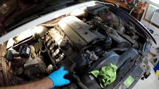 BMW E36 E46 E39 Random Misfire With No Codes? Possible fixes... And A little Headlight Buffing !