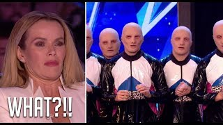 Baba Yega: Freaky ALIAN Dancers Scare The Judges! | Britain's Got Talent 2018