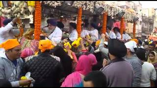 NAGAR KIRTAN ON SHAHIDI DIVAS OF GURU TEG BAHADUR SAHIB JI ON 16.12.2015