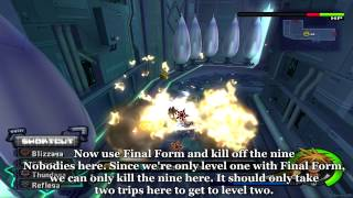 kingdom hearts ii final mix part 40 best way to get final form level up master and final form